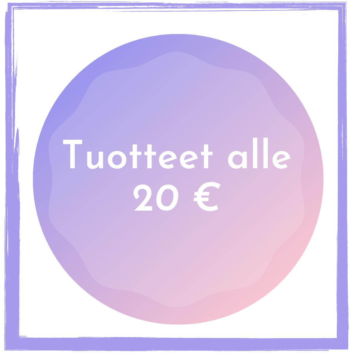 Alle 20 euroa