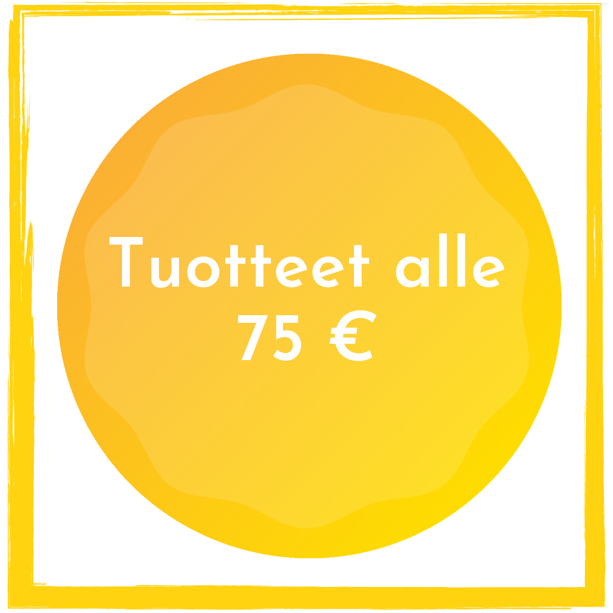 Alle 75 euroa
