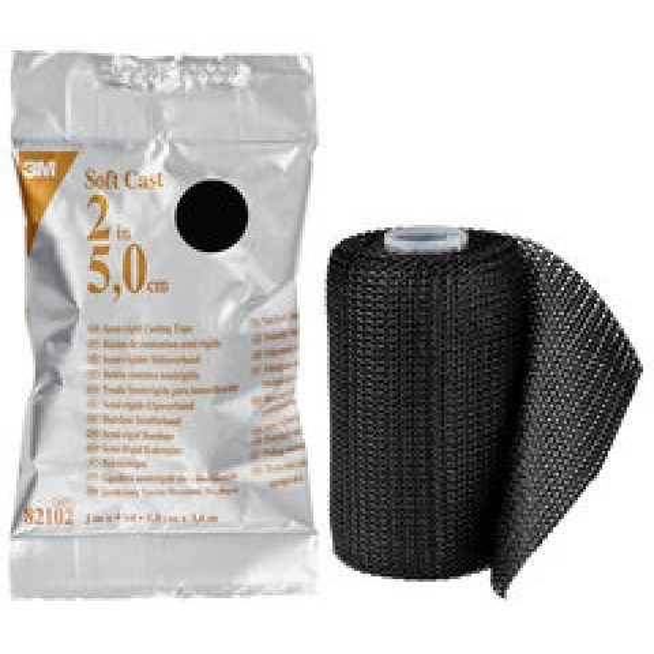 3M Soft Cast -kevytkipsi, musta