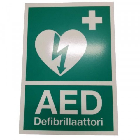 Zoll AED kyltti