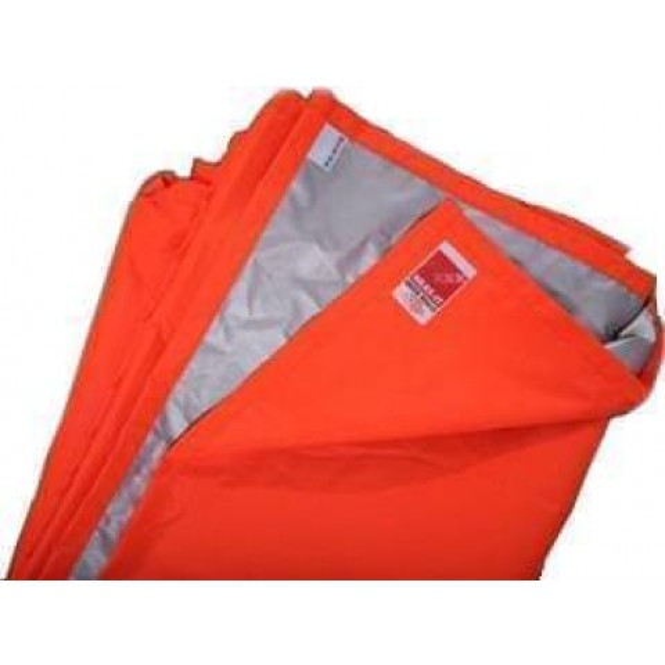 Space Blanket 150 cm x 250 cm, orange