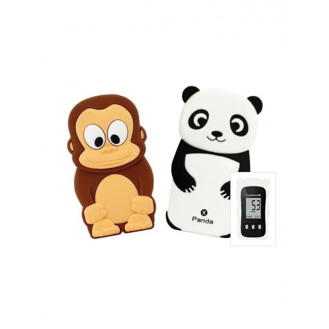 Silicone protectors with animal figures