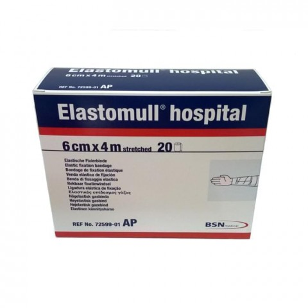 Elastomull Hospital Conforming Stretch Bandages 6 cm x 4 m (20 rolls / box)