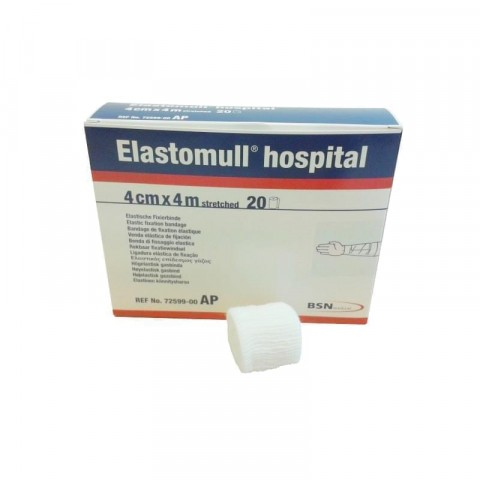 Elastomull Hospital Conforming Stretch Bandages 4 cm x 4 m (20 rolls / box)