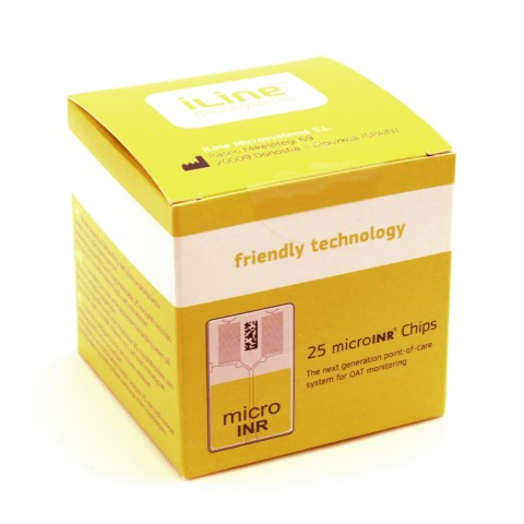 iLine microINR chips –test strips