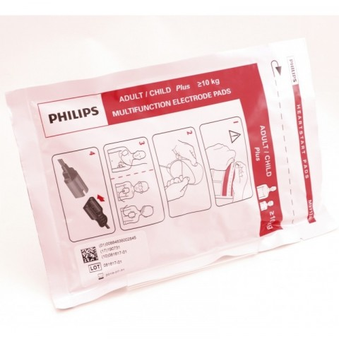 Philips Heartstart Plus electrodes, 10 pairs / box