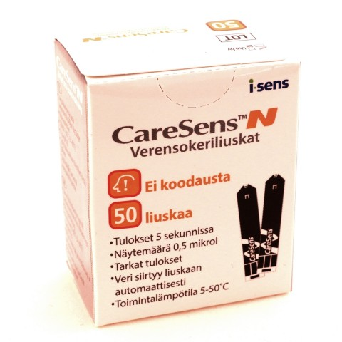 CareSens N strips, 50 kpl