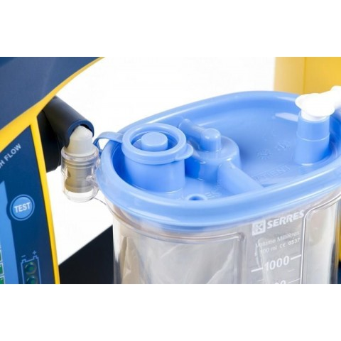 Laerdal Suction Unit LSU 4000 with LSU Serres disposable canister