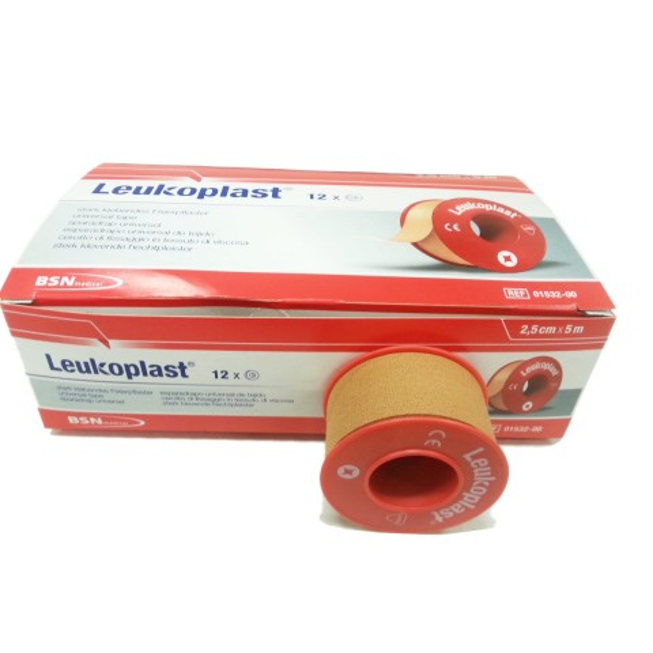 Leukoplast Tape 2,5 cm, 12 pcs