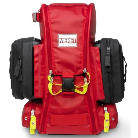 MERET Recover Pro X O2 Response Bag, Red ICC with 2 TS2 Ready modules