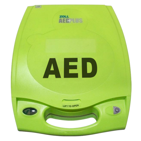 Zoll AED Plus Defibrillator + 5-year CPR-D electrodes