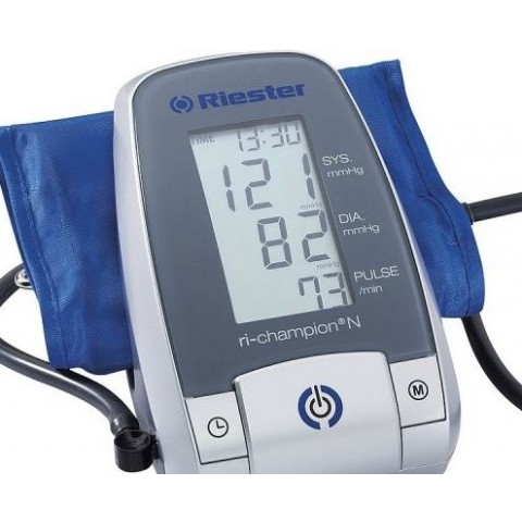 Riester Ri-Champion N Fully Automatic Digital Blood Pressure Monitor with Adults M Cuff