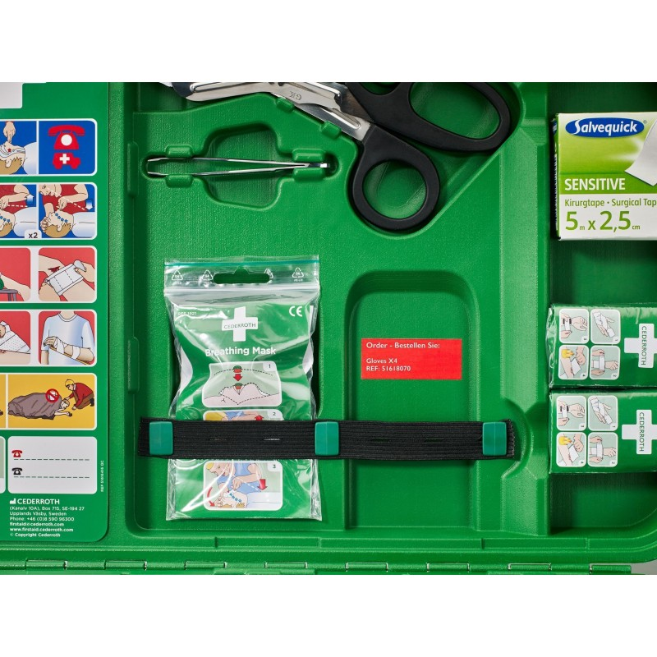 11635c5f4e8 Cederroth First Aid Kit X-Large - medkit.fi