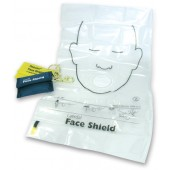 LAERDAL Resuscitation Face Shield Keyring, blue