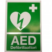 AED Sticker, A5
