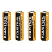 Duracell Industrial AA-type alkaline battery, 1.5V, 4pcs