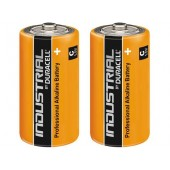 Duracell Industrial C-type alkaline battery, 1.5V, 2pcs