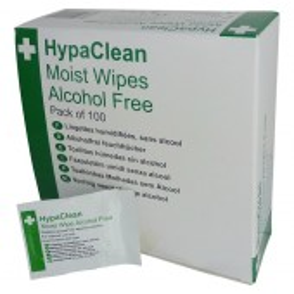 Moist Wipe alcohol free, 100 pcs
