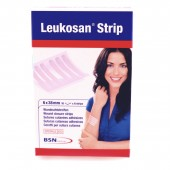 Leukosan Strip haavansulkuteippi 12 x 100mm, 6 Strips 10kpl / pkt
