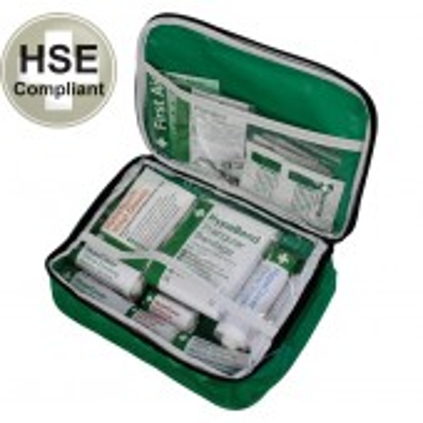 HSE Ensiapulaukku varusteilla