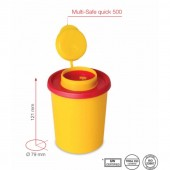 Multi-safe Sharps Container 0,5 l