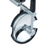 Riester clar N mirror Ø 100 mm. Please note that the holder is not included