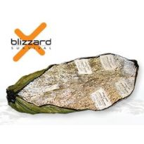 Blizzard Heat Casualty Blanket with heat pads