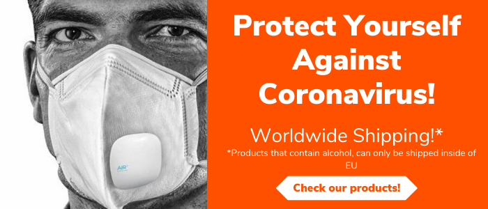 Protect Yourself Against Coronavirus! We offer respirators and face masks to protect you against the virus.